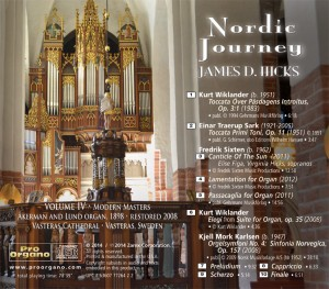 Nordic Journey - Volume IV - Modern Masters - back