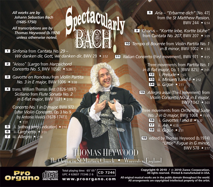 Les pochettes les plus tartes ou rigolotes ! (2) - Page 17 7246-02-Spectacularly-Bach