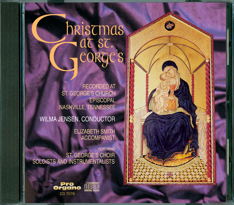 Christmas at St. George's (Audio CD) Choir of St. George's ...
