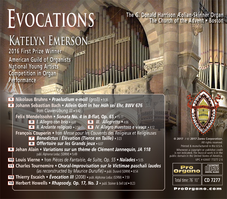 Evocations , (MP3 Album) , Katelyn Emerson